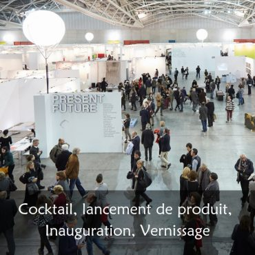 Lancement, vernissage, inauguration