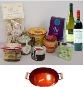 L'Aromatique - Coffret gourmand - Panier gourmand